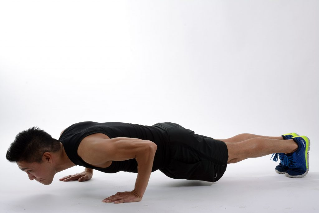 push up in calisthenics workout